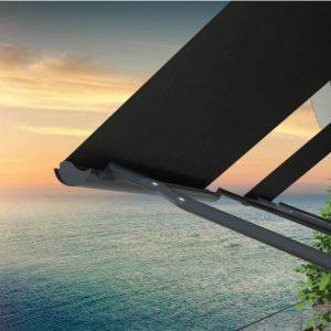 סוכך חשמלי לחלון עם קסטה
