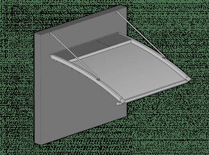 פרגולה חשמלית מבד PVC