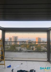 פרגולה חשמלית בחיפה